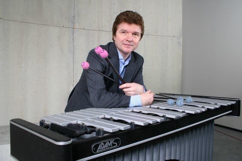 Carlo Willems (vibrafoon) en Sylvie Erauw (marimba) @ Antwerpen | Vlaanderen | België