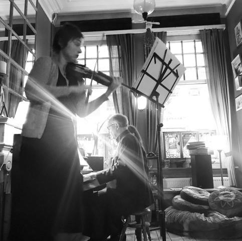Duo Tatjana Scheck viool en Urbain Boodts piano @ Antwerpen | Vlaanderen | België