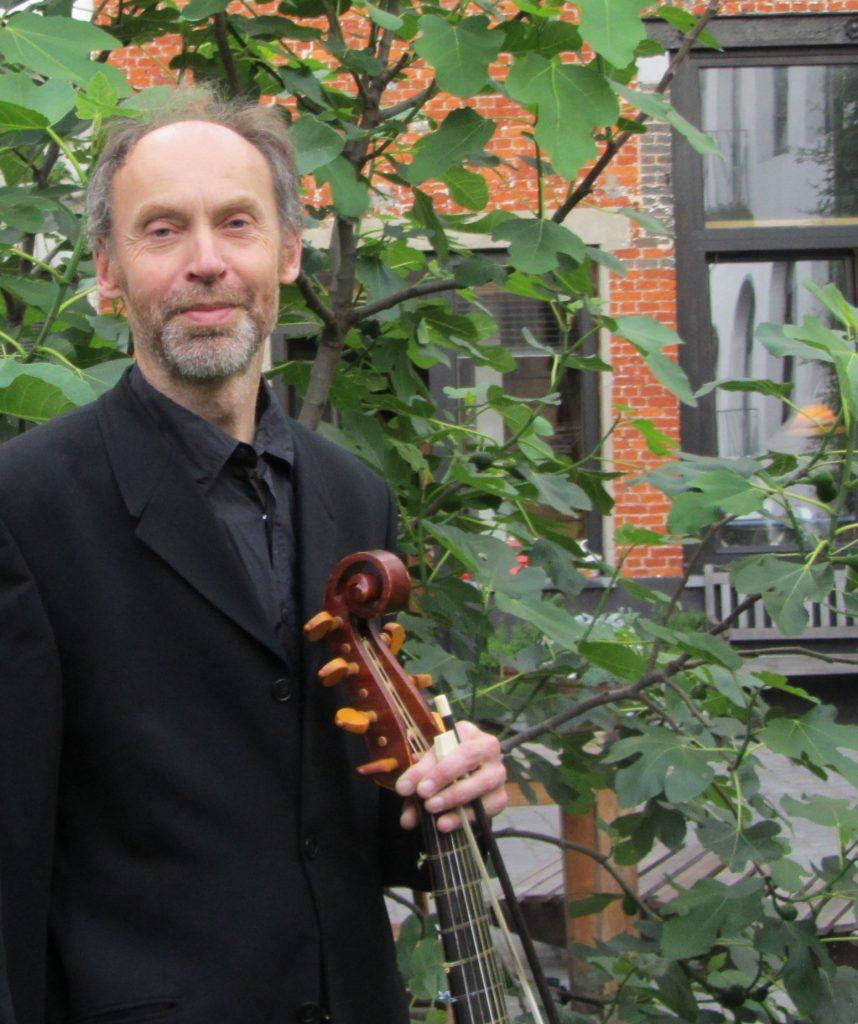 Piet Stryckers (viola da gamba )  & Sofie Vanden Eynde (theorbe) @ Veilinghuis Bernaerts | Antwerpen | Vlaanderen | België